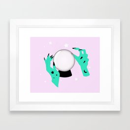 Crystal Ball Framed Art Print