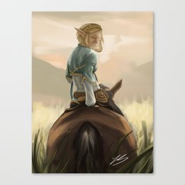 Sunset Zelda Canvas Print