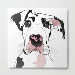 Great Dane Metal Print