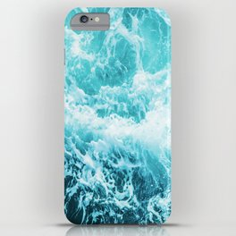 Perfect Sea Waves iPhone Case