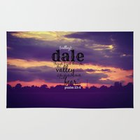 dale cooper Area & Throw Rugs featuring Dale by KimberosePhotography