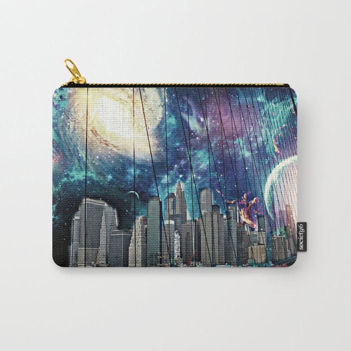 Cosmic New York  Carry-All Pouch