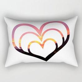 Mountains in Love I Rectangular Pillow