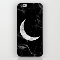 Marble Moon iPhone Skin