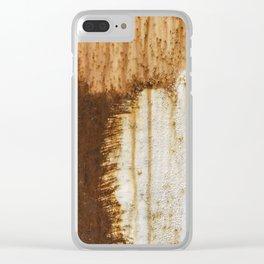 Rust 05 Clear iPhone Case