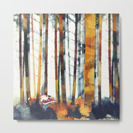 Autumn Hunt Metal Print