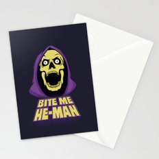 Skeletor - Bite me Stationery Cards