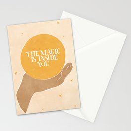 The Magic Is Inside You Stationery Cards