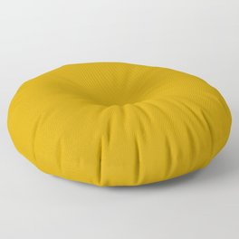 Chinese Gold - solid color Floor Pillow