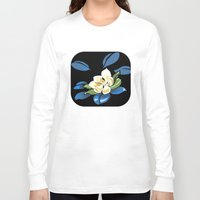 magnolia Long Sleeve T-shirts featuring Magnolia by Patricia Howitt
