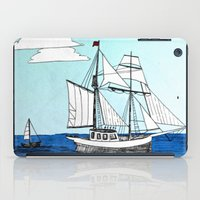 pirates iPad Cases featuring Chasing Pirates by Jamie Marie Lyon
