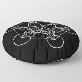 Metatron's Cube II Floor Pillow