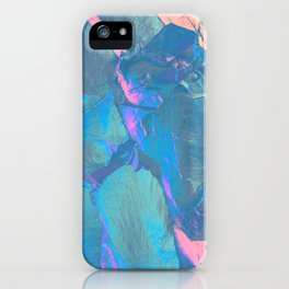 Holographic Artwork No 4 (Crystal) iPhone Case