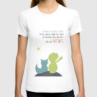 le petit prince T-shirts featuring LE PETIT PRINCE -the little prince- by Chara Anagnostopoulou
