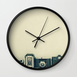 Camera Collection Wall Clock