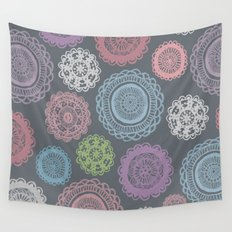 Doily Doodles Wall Tapestry
