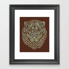 Lion (Royal) Framed Art Print