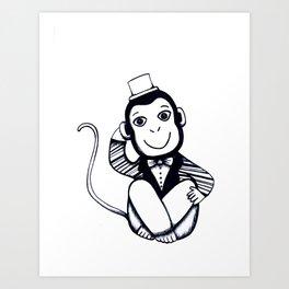 Lil Monkey Art Print