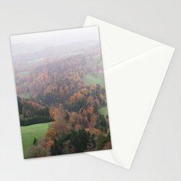 FOGGY SWITZERLAND Stationery Cards