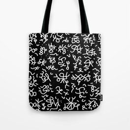 step father tongue Tote Bag