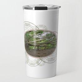 Ancient Tree Roots Banyan Tree Travel Mug