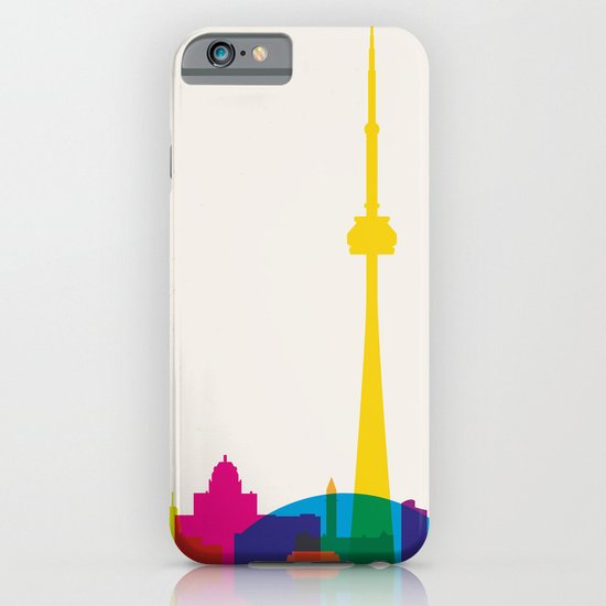 Shapes of Toronto. Accurate to scale iPhone & iPod Case