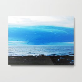 Storm Funnels Above the Sea Metal Print