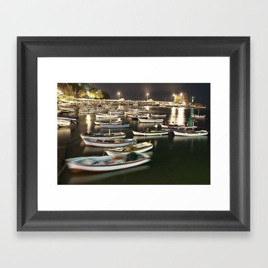 Quiet Night Framed Art Print