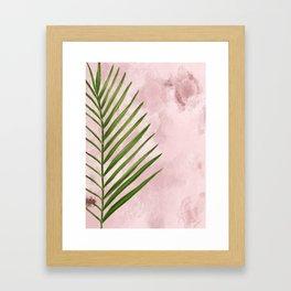 Palm Spring Framed Art Print