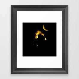 LeVeque At Night Framed Art Print