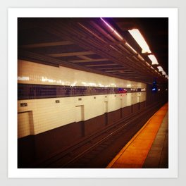 Jay Street Metro Tech, you're here... Art Print