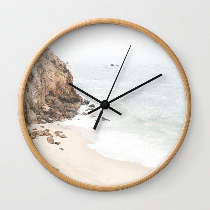 Malibu California Beach Wall Clock