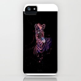 Zebra 1 iPhone Case