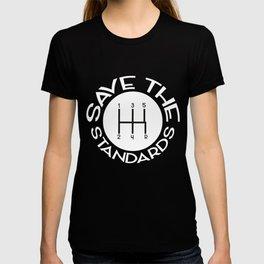 Save the Standards Standard Manuals T-shirt