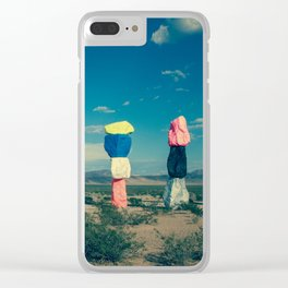 Seven Magic Mountains (Series1 Pt.1) Clear iPhone Case