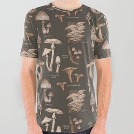 Mushrooms All Over Graphic Tee