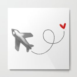 Fly to you Metal Print