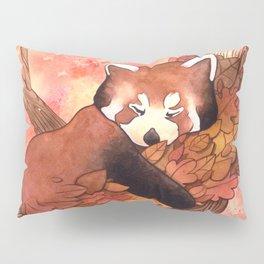Cute Red Panda Pillow Sham