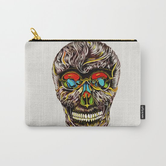 Colorful Skull Carry-All Pouch