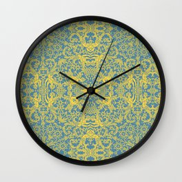Lace Variation 10 Wall Clock
