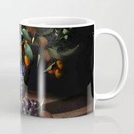 Classic Dutch Masters-Style Arrangement of Fruit Coffee Mug