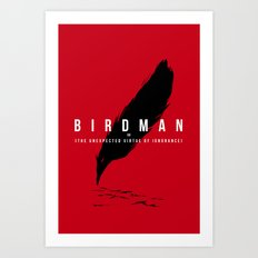 It´s a bird Art Print