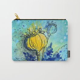 Poppies 3 Carry-All Pouch
