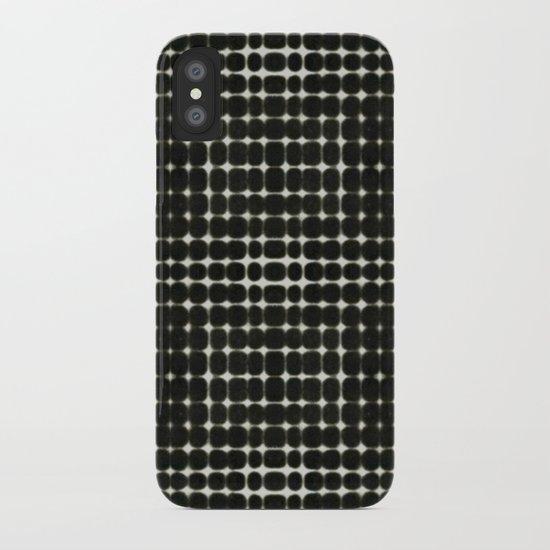 Deelder Black iPhone Case