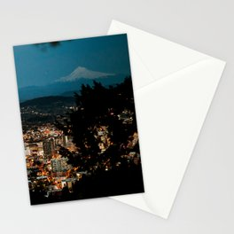 Portland Skyline Stationery Cards