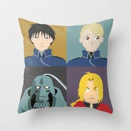 FMA Character Print Throw Pillow