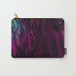 deep dark pink Carry-All Pouch