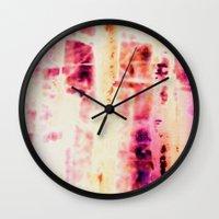 batik Wall Clocks featuring batik by clemm