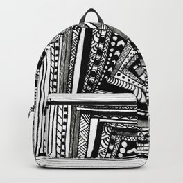 Crooked Squares Backpack