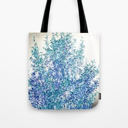 WINTER BLUE - SOLAR TREE Tote Bag